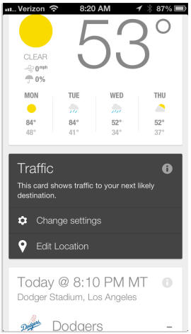Your guide to Google Now on iOS