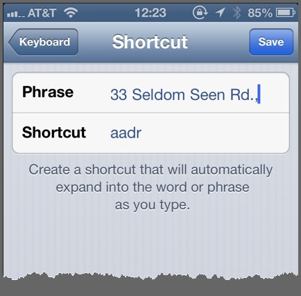 How to Automate Text Entry in iOS